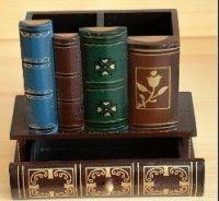 hand made Vintage wood Pen box