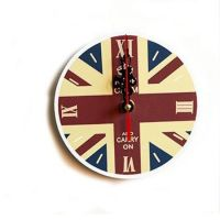 Vintage England style wall clock home decor