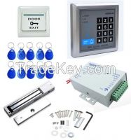 1100 LBs Electric Magnetic Door Lock Access Control System Kit EMID Card/Password