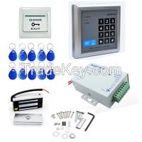 130 LBs Electric Magnetic Door Lock ID Card/Password Access Control System Kit