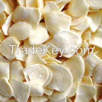 Dried Garlic Flakes Without Root