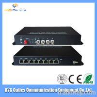 Sel  4 /8/12/16 20KM channel fiber optic Video Converter