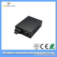 Professional Supply 10/100/1000M & Gigabit fiber optic media converte