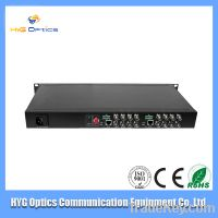 Sell 2013 cheap 16 core fiber media transceiver