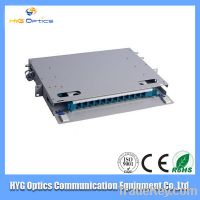 12 cores Outdoor Fiber Optic Pannel Box With High Quality