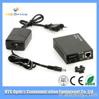 High Quality 10/100/1000M & Gigabit fiber optic duplex media converter