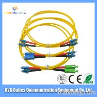 Fast Delivery High Quality SC-LC Duplex Fiber Optic Patch Cord