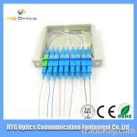 Sell Professional Supply Fiber Optic 1-8 PLC Splitter