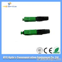 manufacture supply sc-apc fast connector , fiber sc/apc fast connector