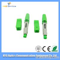 High quality sc/apc fast connector, fiber optic sc apc connector, apc s