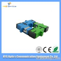 Manufacture Supply SC apc/upc fiber optics simplex adapter, sc/apc sc/u