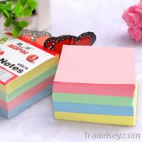 Colorful sticky note memo pad set