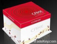 Take away custom paper cake box
