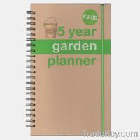 Kraft cover Note book with Spiral Printing