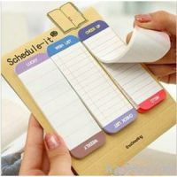 Sticy notes hight quality easy peel off , sticky firmly without curling
