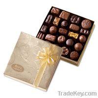 2013 NEW Matt Black Gift Paper Box For Chocolate