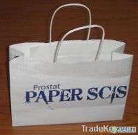 Paper Shopping Bags, Customized Sizes and Designs are Accepted