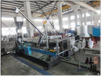 waste plastic granules making machine for pp pe film/bag