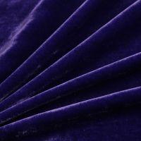 plain color silk velvet