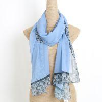 polyester silk feeling scarf hijab