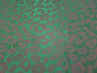 leopard silk jacquard yarn dyed fabric