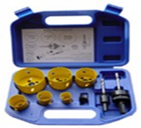 9pc Hole Saw Kit