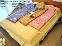 DSheep Pure Australian Wool Blanket