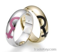 Sell fashion jewelry Popular Couples stainless steel Rings