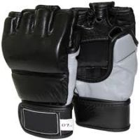 MMA Sparring Gloves Made of Cowhide Leather