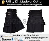 Utility Kilt  Made Of Cotton All size/color  are available