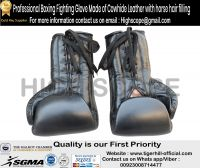 HorseHair Padded Boxing Professional Gloves made of cowhide leather