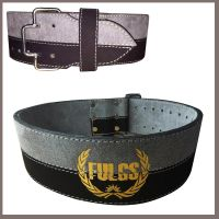 Weight Lifting belt 4 inches made cowhide leather with buckle