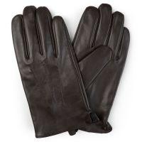 Men's Genuine ( Sheep Skin) leather Driving gloves, warm winter glove