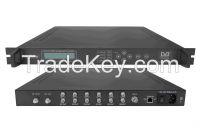 DVB-S2 x 6-4QAM TransModulator with Scrambler