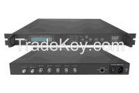 4in1 ASI MUX-Scrambler QAM Modulator(5 ASI IN, 4 QAM RF out)