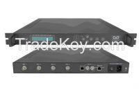 HD H.264 4-SDI Encoder(4 SD/HD SDI in, ASI+IP(UDP)/MPTS out)