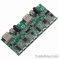 Sell PCBA assembly for car MP3 control board, SMT and THT mixed