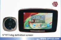Sell 5.0 inch touch screen smart door viewer