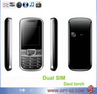 Sell Dual SIM cheap mobile phone with bluetooth