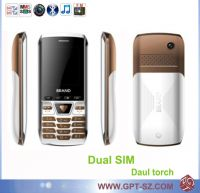 Sell Dual SIM cheap qwerty keypad mobile phone with camera