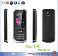 Sell Dual SIM cheap color qwerty mobile phone
