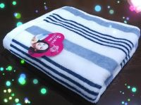 cheap stripe hand towels from China