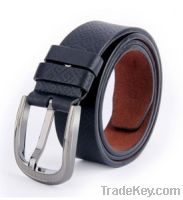 Sell men belts high quality genuine cow leather