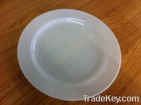 white plastic plate