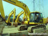 Sell Second Hand Excavator, Komatsu Pc200-6