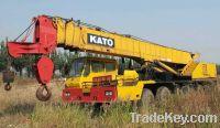 Sell Used Kato Truck Crane, Kato NK500E