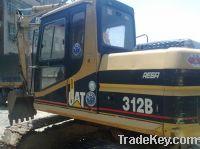Sell Used Caterpillar 312B Excavator, Good Price