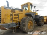 Sell for Used Komatsu WA600-3 Wheel Loader