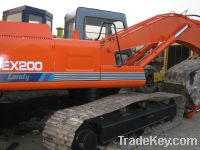 Sell Used Hitachi Excavator, Hitachi Ex200-1