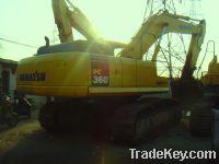 Sell Used Crawler Excavator, Komatsu PC360-7